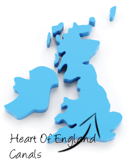 Heart Of England Canals on map