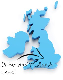 Oxford & Midlands Canal on map